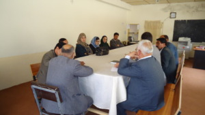 Coordination meeting with sports authorities