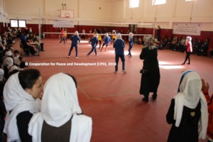 Final volleyball match between Sooria and Rabia
