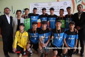 Team Qala-e-Bahadur Khan, the 2nd of Futsal 2018