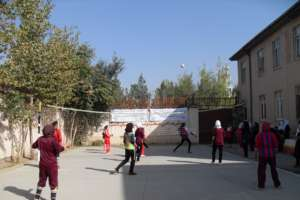 Girl Volleyball Tournament, October 2015