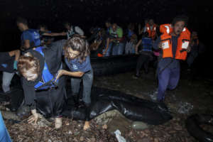 During 2015 - IsraAID received up to 50 boats/day