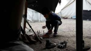 40% of the refugees in Greece are children