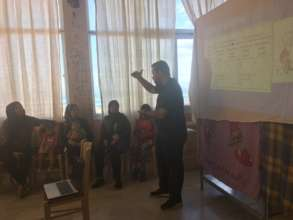 Health education to mothers and children