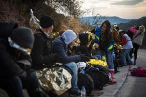 Boat arrival 2 weeks ago - Lesbos