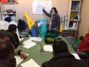 Daily English Class in Petra-Olympou