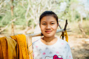 Your gifts are giving girls like Kyung hope!