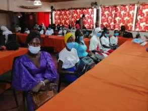 Scholars at our Gender Based Violence Workshop