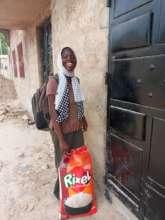 Mame Diarra, a 17-year-old scholar in Sokone