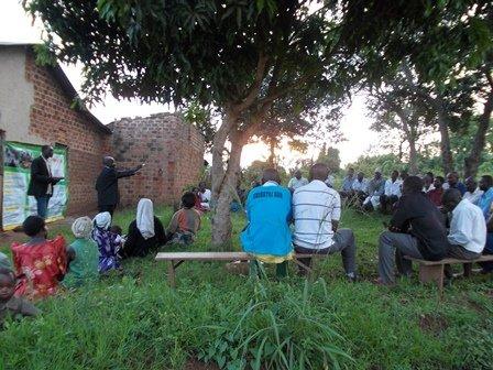 Help 1000 Men in Uganda to Stop Domestic Violence