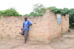 Okaka Vincent & the house he hopes to finish
