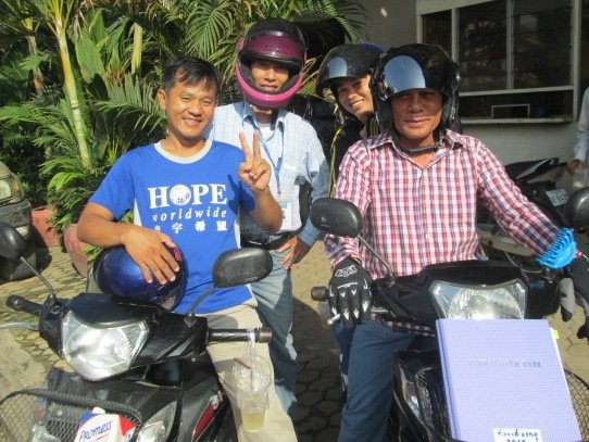 Transforming Lives of People with HIV in Cambodia