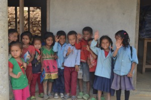 Some of Our Children at the first Diyalo School