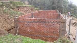 School under construction in June