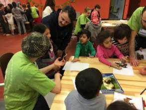 Children Participating in PSS Activities