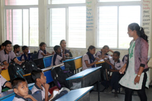Jayashri teaches maths