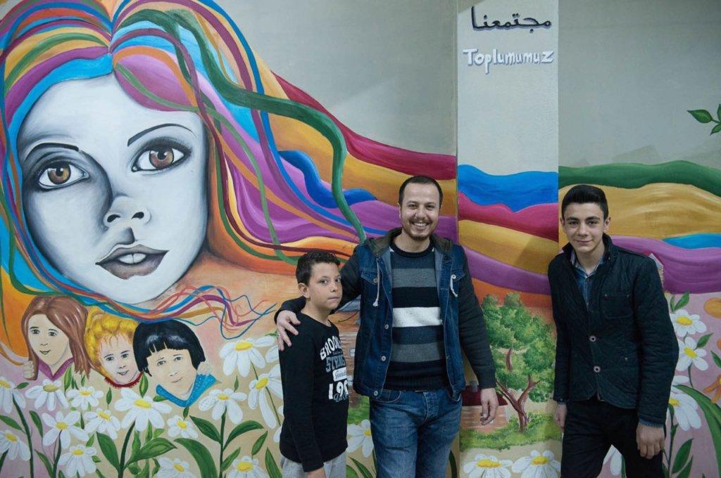 SMART art - Creating Amity through Art in Turkey