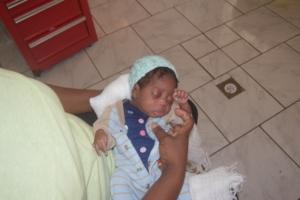 Baby Djenna at 5 pounds