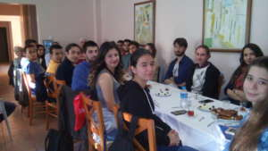 MEETING WITH SCHOLARSHIP HOLDERS