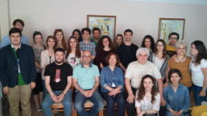 MEETING WITH SCHOLARSHIP HOLDERS AND MENTORS
