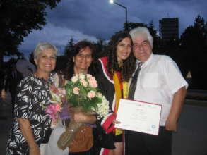 AYSEGUL ONAL,HER MOTHER,MRS & MR AYGUNDUZ