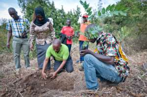 Training the Farmers