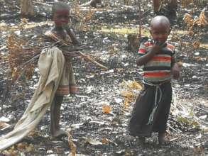 Children facing poverty