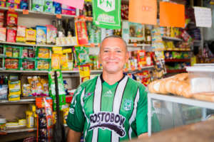 Freiman at his store in Cartagena