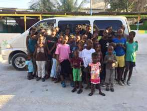 A new mini bus for the HTDC orphanage in Haiti