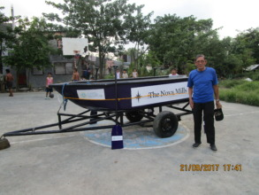 Our new rescue boat - The Nova Mills