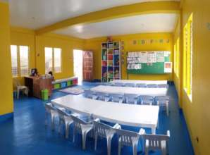 We also provided beautiful classrooms in Tacloban