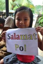 Salamat Po (or thanks in Filipino)