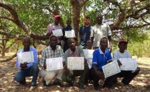 Proud community forest guards