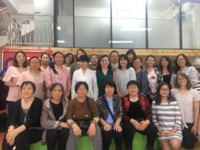 Beijing Outreach training with specialist from US