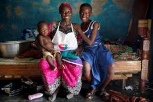 Abdul and her children