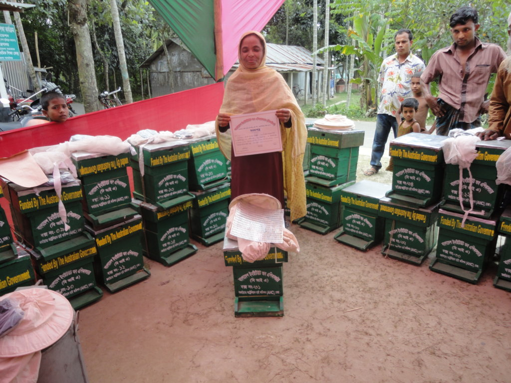 Livelihood Assistance for 80 poor Women in Banglad