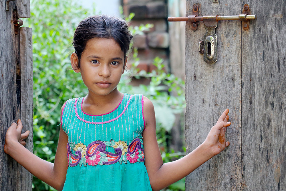 Support for menstrual health for girls in India