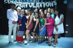 Students and Teachers at Graduation 2019