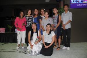 Graduation Picture Tamar Training