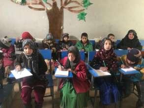 Support education for marginalized children, Kabul