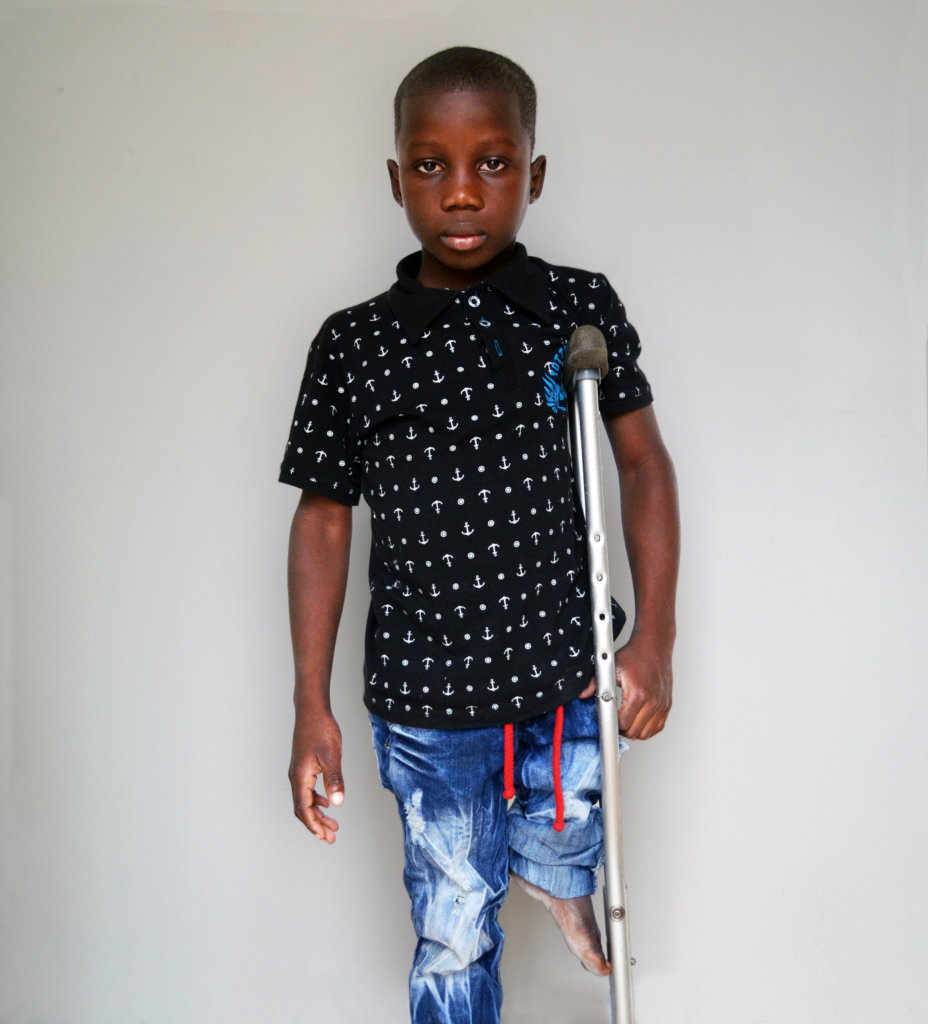 Ever needs your help to walk again