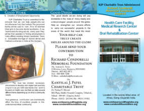 Healthcare Project Brochure page 1