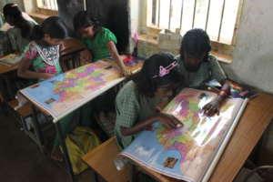 Map Reading in Grade IV