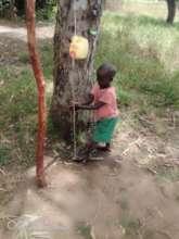 Making sure children wash their hands is key