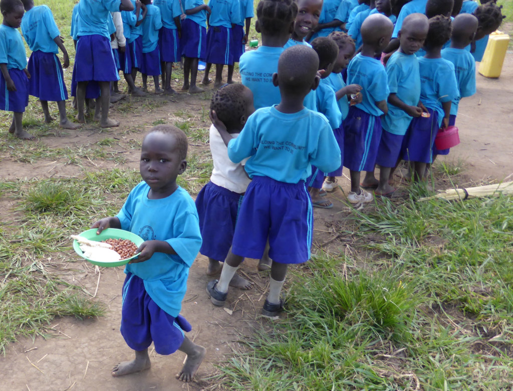 Daily porridge for 750 Infants in Northern Uganda