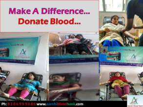 Make A Difference ! Donate Blood !!!