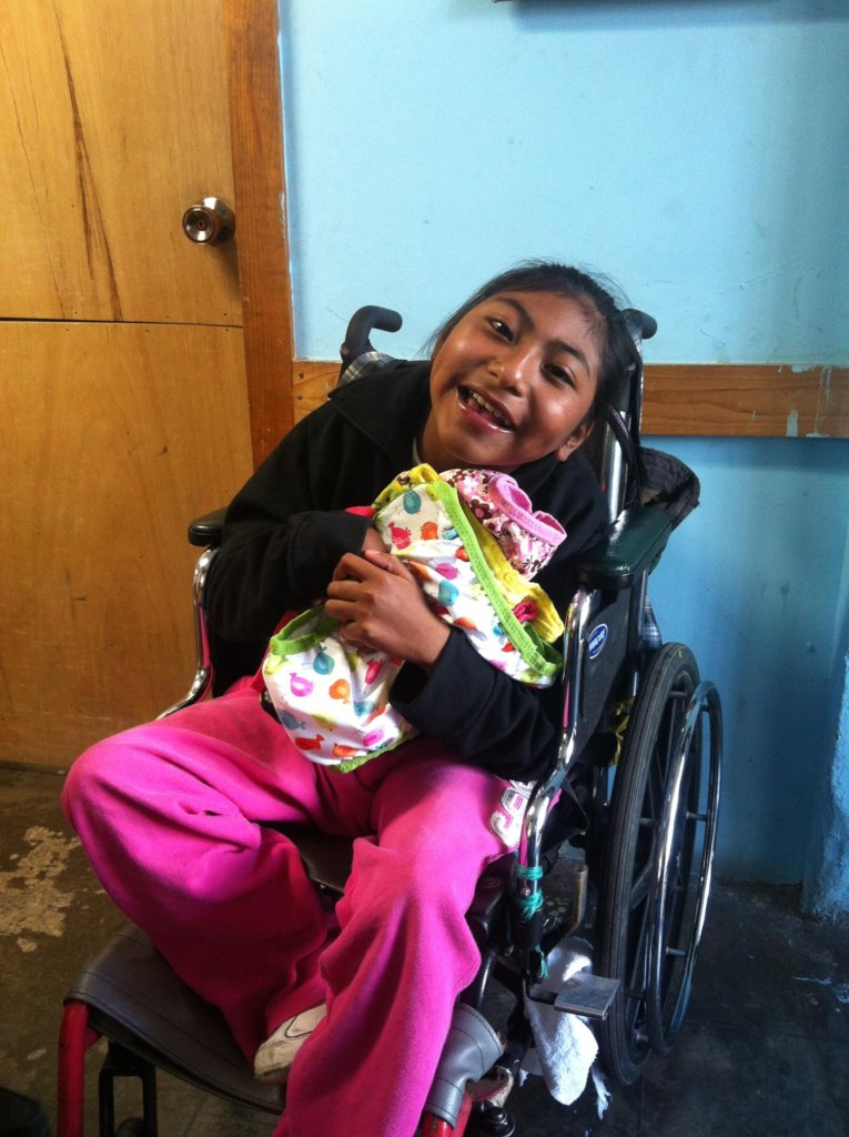 Diapers for Children in Poverty in Guatemala