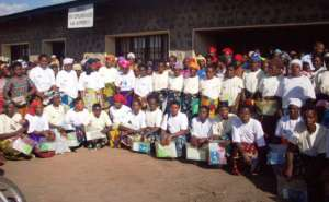 GBV victims after a succesful training