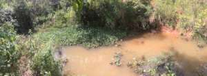 The new water source for the farm