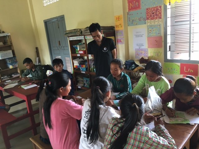 450 Cambodian children receive a better education