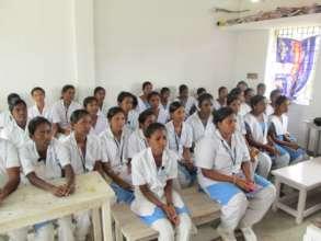 St, Mary students